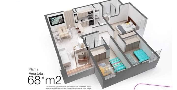 Apartamento en Sabaneta 108995, foto 15