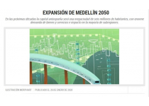 expansion de medellin 2050