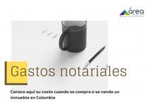gastos notariales