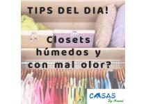 closets humedos y con mal olor