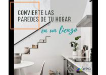 convierte las paredes de tu hogar en un lienzo