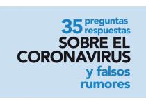 35 preguntas y respuestas sobre coronavirus y falsos rumores