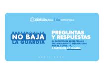 decreto de excepciones del aislamiento obligatorio a partir del 27 de abril 2020