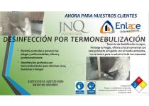 desinfeccion por termonebulizacion