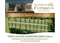 reserva de florisanto lotes campestres monteria