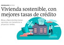 excelente noticia vivienda sostenible con mejores tasa de credito