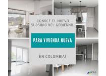 conoce el nuevo subsidio de vivienda nueva del gobierno colombiano