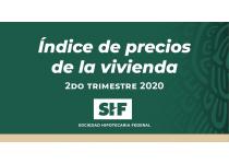 indice shf de precios de la vivienda en mexico segundo trimestre de 2020