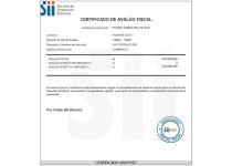 certificado de avaluo fiscal