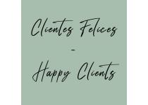 clientes felices happy clients