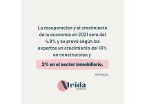 recuperacion de la economia colombiana en el sector de bienes raices