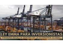 la ley emma permite a empresas multinacionales establecer en panama fabricas y plantas de produccion