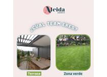 y tu prefieres terraza o zona verde