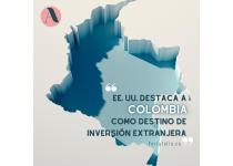 eeuu destaca a colombia como destino de inversion extranjera