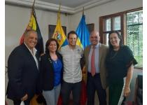 junta ampliada del municipio el hatillo con la camara inmobiliaria metropolitana de caracas