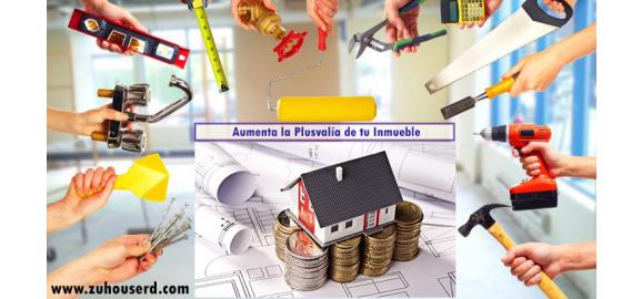 renovaciones que aumentan el valor de una propiedad plusvalia