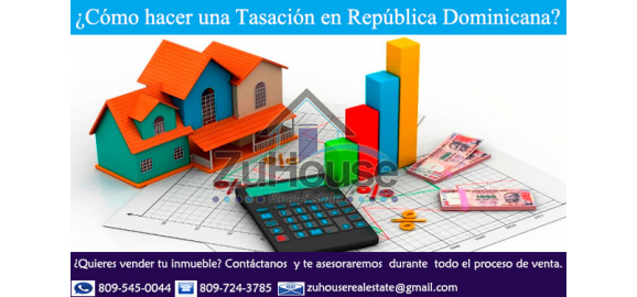 como hacer la tasacion de un inmueble en republica dominicana