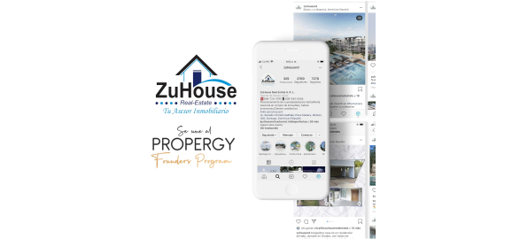 zuhouse real estate se une al propergy founders program