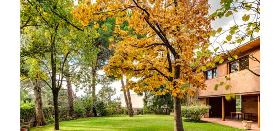 espacios abiertos y al aire libre en las viviendas