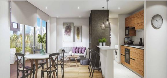 proyecto de apartamentos modernos en chia