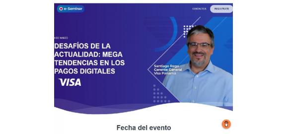 visa y la camara de comercio digital y blockchain de panama ofreceran e seminars educativos sobre industria de pagos digitales en panama