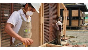 la vivienda del futuro hecha 100 en madera