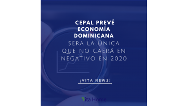 cepal economia dominicana no caera en negativo en 2020
