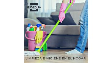 limpieza e higiene para protegerse del covid 19 en el hogar