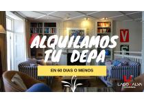 ALQUILAMOS TU INMUEBLE EN 60 DIAS O MENOS