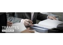 tramites notariales