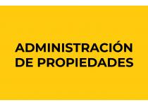 Administración de Propiedades
