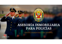 ASESORÍA INMOBILIARIA Y FINANCIERA PARA POLICÍAS