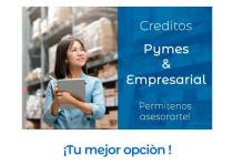 CREDITOS PYMES Y EMPRESARIALES