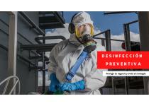 Desinfección Ambiental Antiviral.